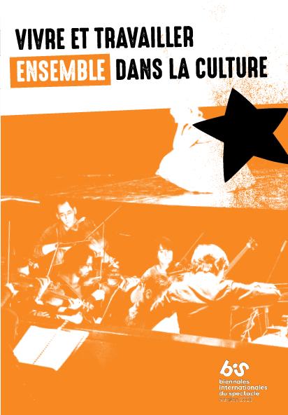 Affiche de présentation de l'espace Vivre Ensemble aux BIS de Nantes
