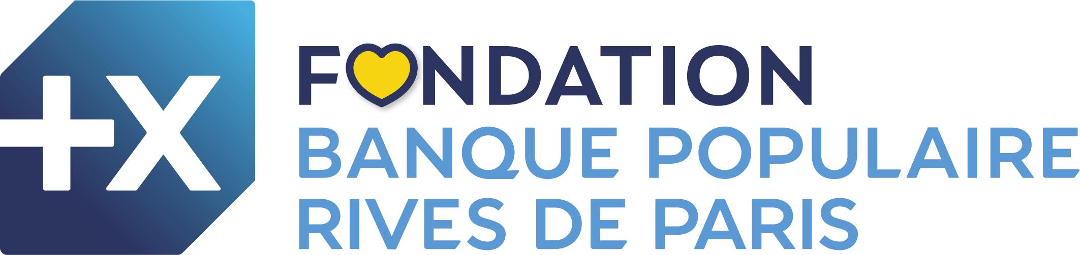 Logo de la Fondation Banque Populaire Rive de Paris